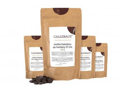hořká čokoláda do fontány callebaut 1 kg
