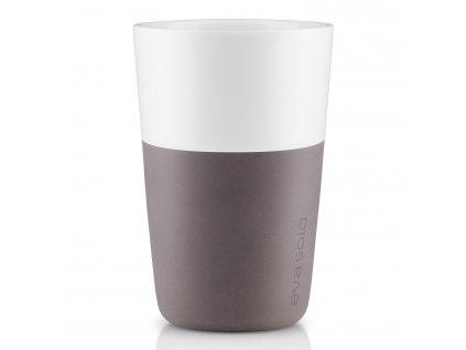 Termohrnky na café latte 360 ml 2 kusy šedé Eva Solo