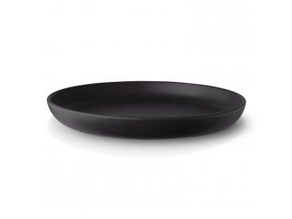 Talíř jídelní Nordic kitchen O 25 cm černý