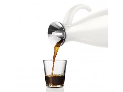 Vakuová termoska O 15,5 cm, 1,0 l bílá Eva Solo