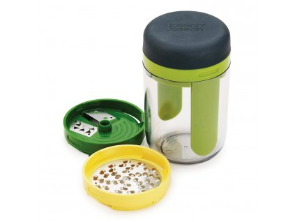 Ruční spiralizér s nádobou a výměnnými břity Spiro™