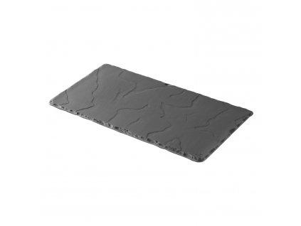 Talíř obdélníkový Basalt 30 x 16 cm