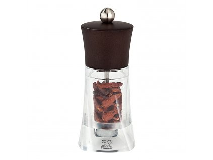 Mlýnek na chilli OLERON čokoládová/akryl 14 cm Peugeot