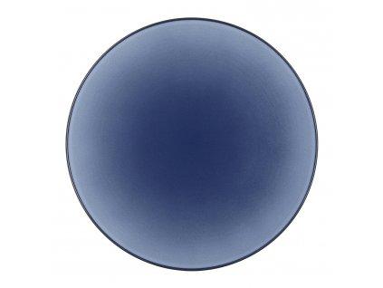 Talíř na hlavní chod O 28 cm nebesky modrá Equinoxe