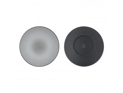 Talíř na hlavní chod/servírovací O 31,5 cm pepřová bílá Equinoxe REVOL