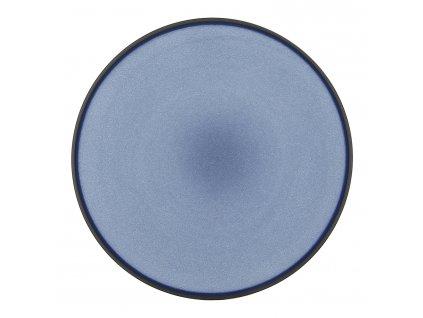 Talíř dezertní O 21,5 cm nebesky modrá Equinoxe