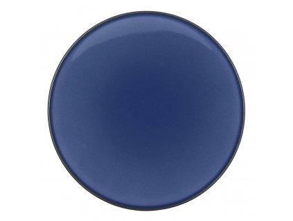 Talíř chlebový O 16 cm nebesky modrá Equinoxe