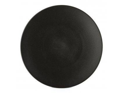 Talíř na hlavní chod/servírovací O 31,5 cm matná černá Equinoxe