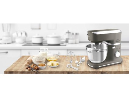 Kuchyňský robot ETA Gratussino Bravo II šedá