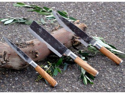 Sada nožů Forged Olive 3 ks