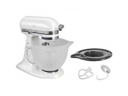 Kuchyňský robot KitchenAid Artisan 5KSM156 matně perlová
