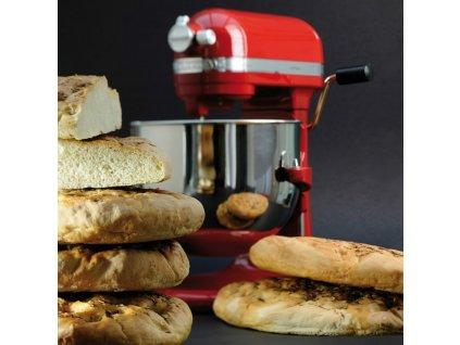 Kuchyňský robot KitchenAid Artisan 5KSM7580 královská červená  + ZDARMA kurz vaření v hodnotě 2490 Kč Chefparade.cz