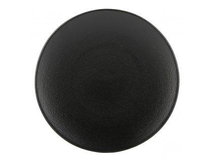 Talíř chlebový O 16 cm matná černá Equinoxe REVOL