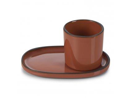 Kelímek na kávu/čaj skořicový Cinnamon CARACTERE REVOL