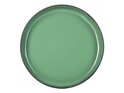 Jídelní talíř GOURMET mátový Mint CARACTERE REVOL