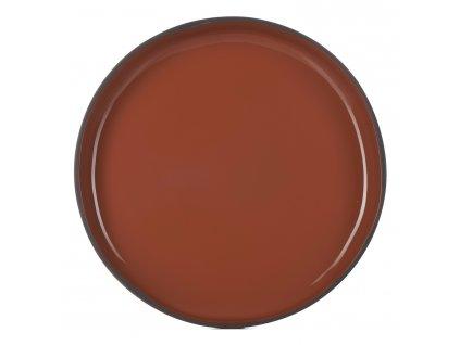 Jídelní talíř GOURMET skořicový Cinnamon CARACTERE REVOL