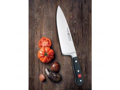 Kuchařský nůž 20 cm se širokou čepelí Classic WÜSTHOF