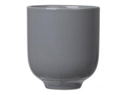 Pohárek na čaj RO tmavě šedý Blomus