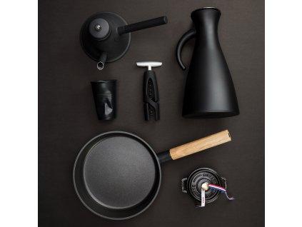 Vakuová termoska O 15,5 cm, 1,0 l matná černá Eva Solo
