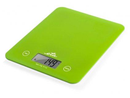 Digitální kuchyňská váha ETA Lori zelená