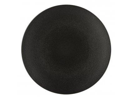 Talíř na hlavní chod O 28 cm matná černá Equinoxe REVOL
