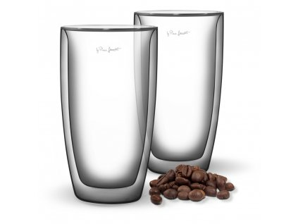 Set sklenic na caffé latté Vaso Lamart 380 ml 2 ks