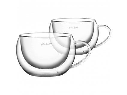 Set sklenic na cappuccino Vaso Lamart 270 ml 2 ks