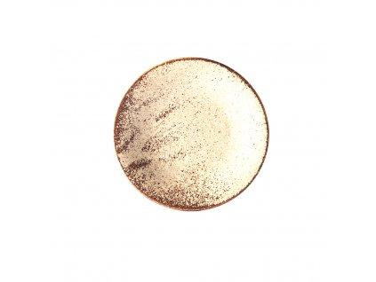 Talíř na tapas Fade písková 17 cm