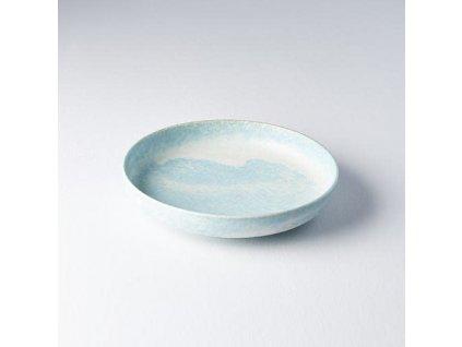 Talíř s vysokým okrajem Soda Blue 20 cm