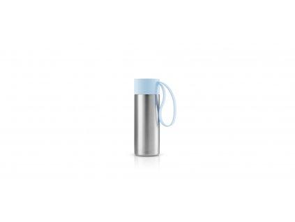 Nerezový termohrnek To Go světle modrá 0,35 l
