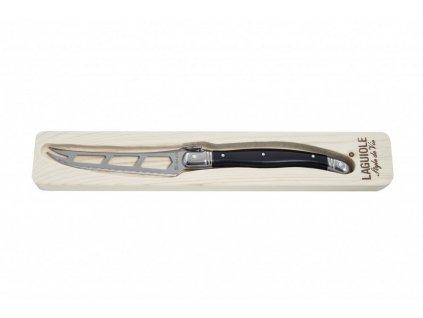 Nůž na sýr Laguiole Premium 10 cm černá