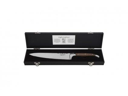 Kuchařský nůž Laguiole Luxury 20 cm olive