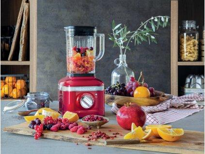 Stolní mixér KitchenAid Artisan K400 červená