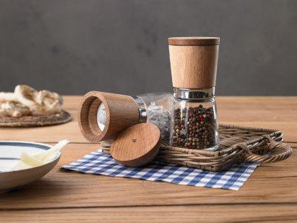 Sada mlýnků na pepř a sůl Ceramill Nature WMF 13,8 cm