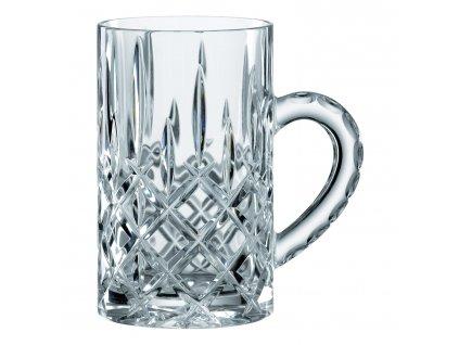 Set 2 malých broušených sklenic na pivo s uchem Noblesse Nachtmann