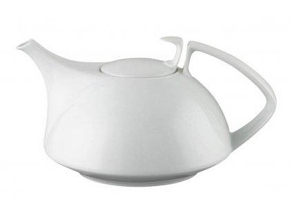 Konvice na čaj s pokličkou a sítkem Tac bílá V 1,35 l Rosenthal