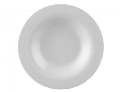 Talíř polévkový Moon bílý O 24 cm Rosenthal