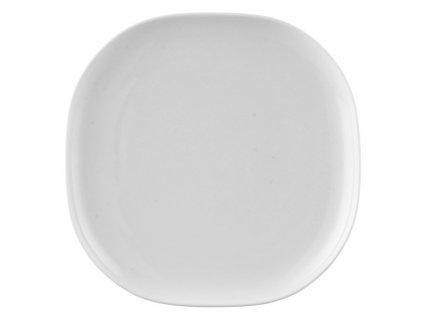 Talíř čtverhranný Moon bílý 24 x 24 cm Rosenthal