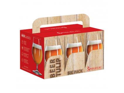 Set 6 sklenic na pivo Tulip Beer Classics Spiegelau