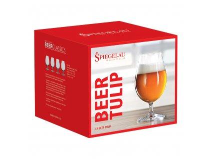 Set 4 sklenic na pivo Tulip Beer Classics Spiegelau