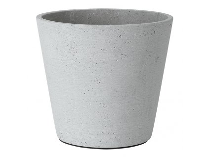 Květináč Coluna světle šedý O 18 cm Blomus
