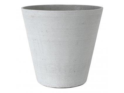 Květináč Coluna světle šedý O 34 cm Blomus
