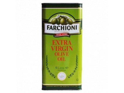 Extra panenský olivový olej Farchioni 5 l