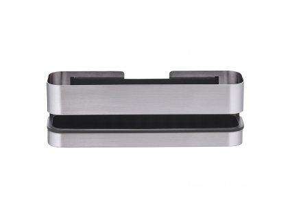 Nástěnná koupelnová police NEXIO matný nerez 25 cm Blomus