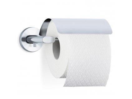 Držák toaletního papíru s krytem AREO matný nerez