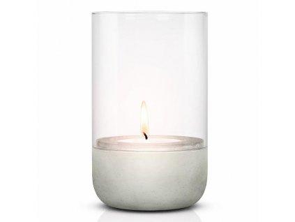 Svícen na čajovou svíčku CALMA 20 cm