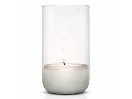 Svícen na čajovou svíčku CALMA 22,5 cm