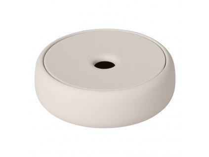 Úložný box na kosmetické potřeby SONO krémový Blomus