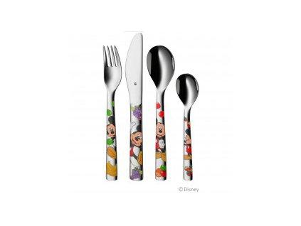 Dětský jídelní set Mickey Mouse WMF 6 ks