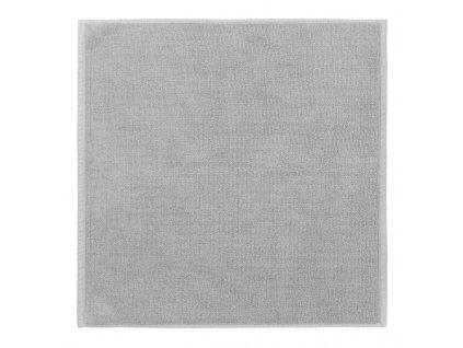 Koupelnová předložka malá PIANA 55 x 55 cm světle šedá Blomus
